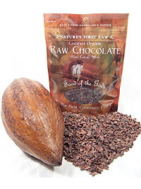 raw cocoa beans product
